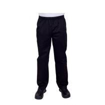Prochef Chef Pants Draw String X-Large Black