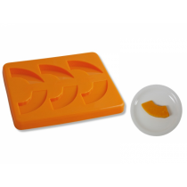 Puree Silicone Mould Pumpkin 6 Serves