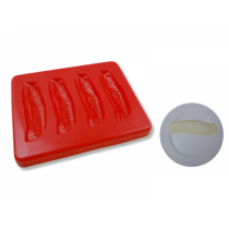 Puree Silicone Mould Fish Fillets 5 Serves (1)