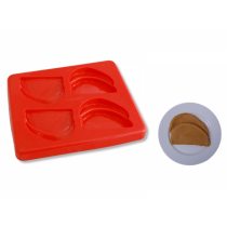 Puree Silicone Mould Sliced Meat 4 Serves (1)