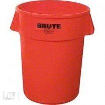 Rubbermaid Brute Bin Red 121L