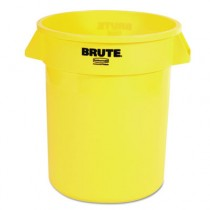 Rubbermaid Brute Bin Yellow 75ltr (6)