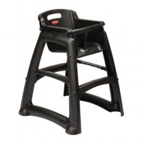 Rubbermaid High Chair Seat Black (1)