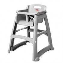Rubbermaid High Chair Seat Platinum