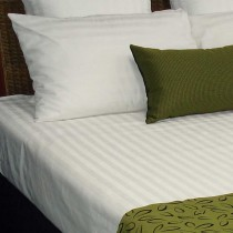 Image of Top Sheet Single Satin Stripe