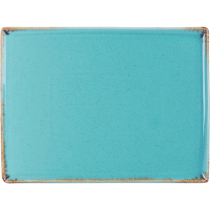 Seasons Rectangular Plate 350 x 260mm Sea Spray