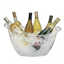 Serroni Wine Party Tub Clear Acrylic W/Handles