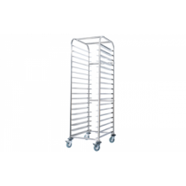 SIMPLY STAINLESS BAKERY TROLLEY TO SUIT 450 X 660MM TRAY