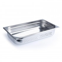 Steam Pan Anti Jam 1/1 Size 100mm Perforated