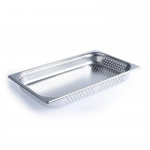 Steam Pan Anti Jam 1/1 Size 65mm Perforated