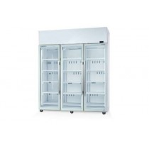 Skope TME1500-A Fridge Integral Active Core White 3 Glass Doors