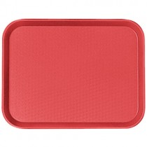 Tray Plastic 300 x 400mm Red