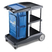 Trolley Janitors Cart Compact Platinum (1)
