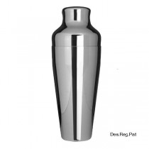 Uber M Shaker 600ml Chrome (2 Pieces)