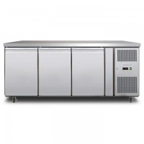 Bromic UBF1795SD U/Counter Freezer 3 Door