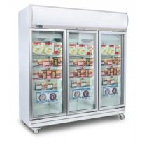 Bromic UF1500LF 3 Door Upright Display Freezer