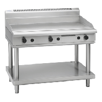 Waldorf 800 Series GP8120G-LS Griddle 1200mm On Leg Stand *Nat Gas*