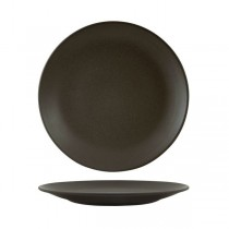 Zuma Coupe Plate 225mm Charcoal 6/Pkt (4)