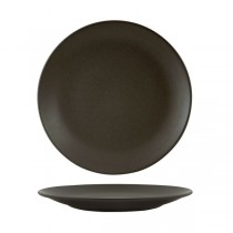 Zuma Coupe Plate 260mm Charcoal 6/Pkt (3)