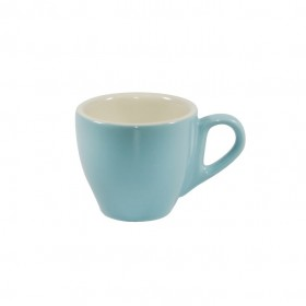Brew Espresso Cup Maya Blue/White 90ml