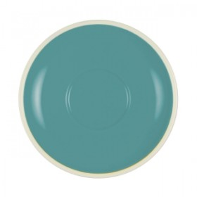 Brew Espresso Saucer Teal/White Suits 25280