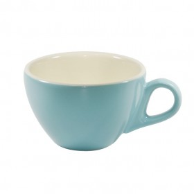 Brew Latte Cup Maya Blue/White 280ml