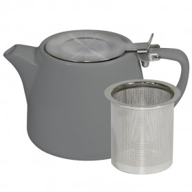 Brew Teapot Stackable French Grey 500ml