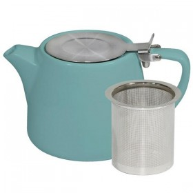 Brew Teapot Stackable Teal 500ml
