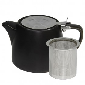 Brew Teapot Stackable 500ml Smoke 2/Pkt