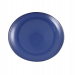 HiscoNFE Artistica Oval Plate 250 x 220mm Reactive Blue 4/Pkt product image (hospitality supplies)