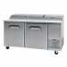 HiscoNFE Bromic PP1700 Pizza Prep Fridge 2 Door product image (hospitality supplies)