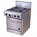 HiscoNFE Goldstein 800 Series PF-4-20 Oven Range 4 Burners *Nat Gas* product image (hospitality supplies)