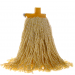 HiscoNFE Mop Premium Commercial With Plastic Ferrule 400gm Yellow product image (hospitality supplies)